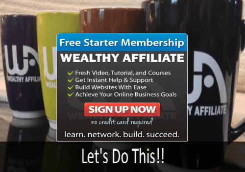 Banner for Wealthy Affiliate Post