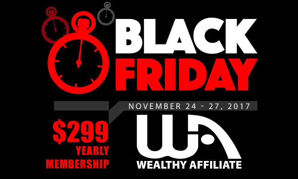wa blackfriday2017 02 - Black Friday Wealthy Affiliate Sale