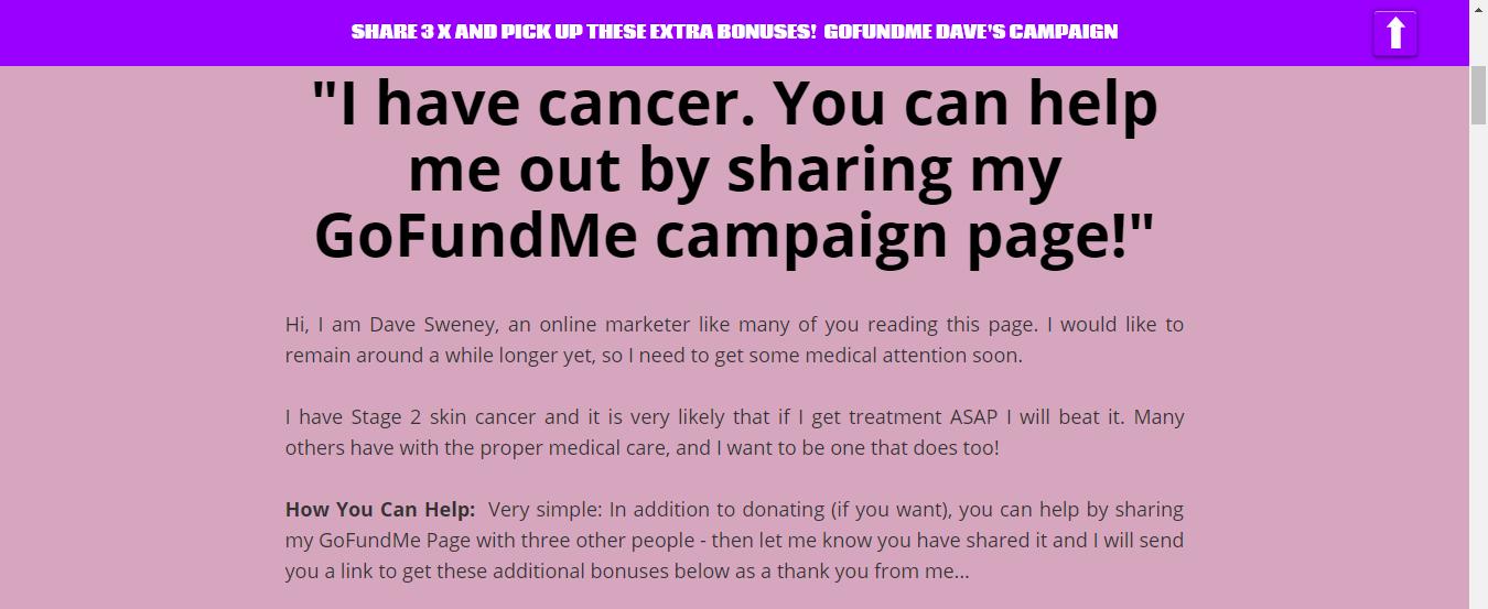 2018 11 21 0726 - GoFundMe Campaign Share Bonus