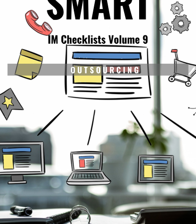 2018 12 19 1254 393x450 - SMART IM Checklists Volume 9 - Outsourcing