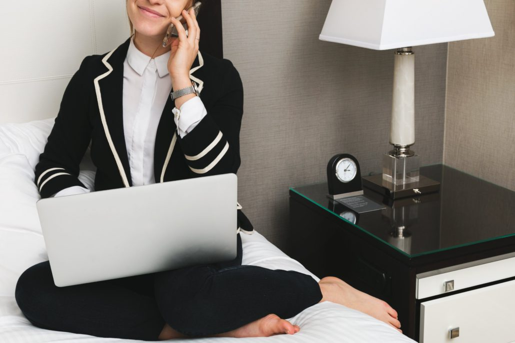 woman with laptop in hotel 4460x4460 1030x687 - SMART Affiliate Program $30,000+ Launch Contest