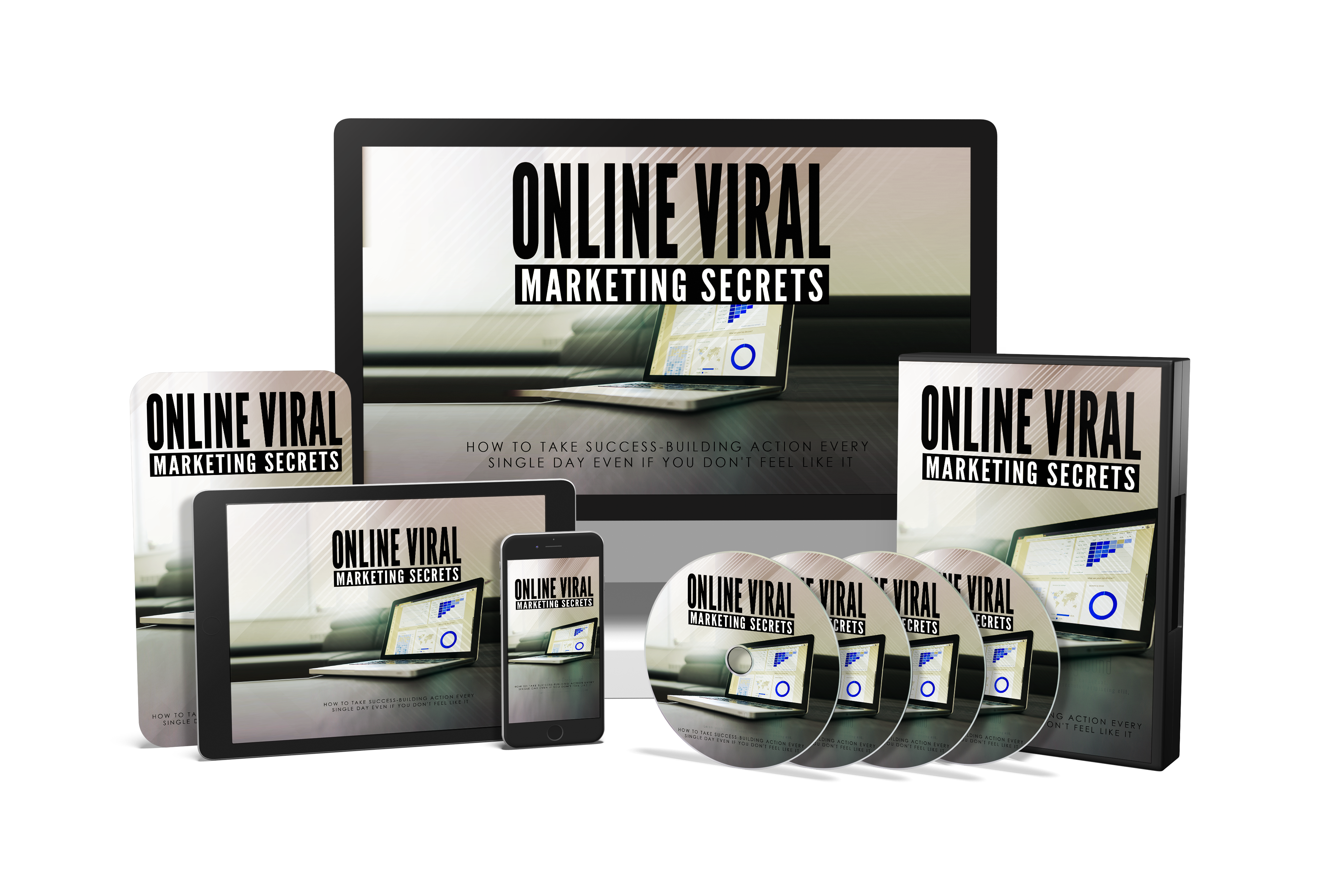 Bundle 3 - How To Use Online Viral Marketing In 2019
