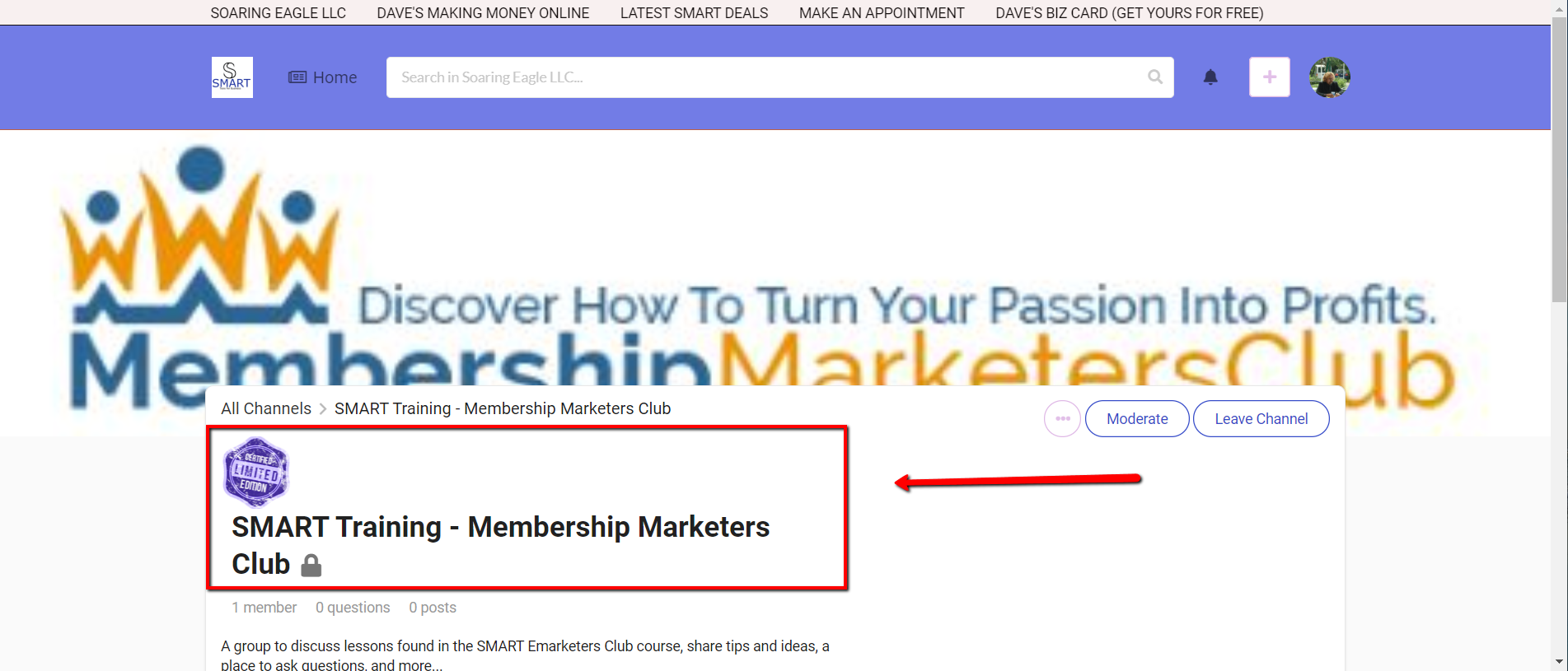 2019 12 28 1256 - SMART Training - Membership Marketers Club - 4 Simple Steps To Membership Profits