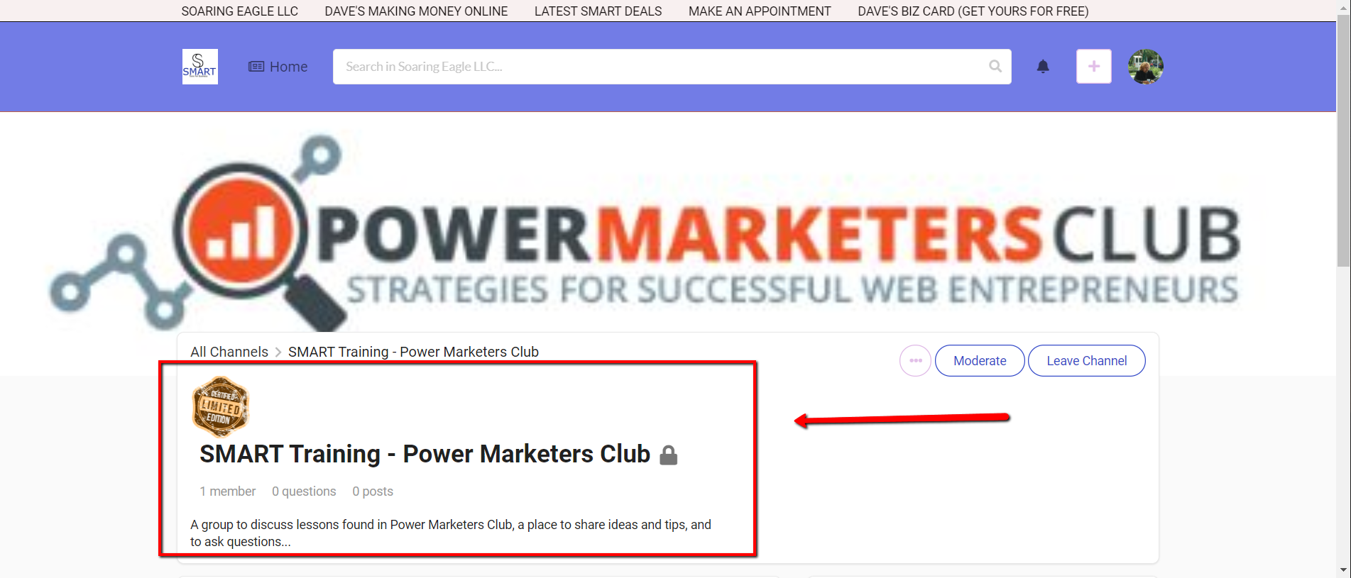 2019 12 28 1717 - SMART Training - Power Marketer's Club - Are You Making These 5 Business Mistakes?