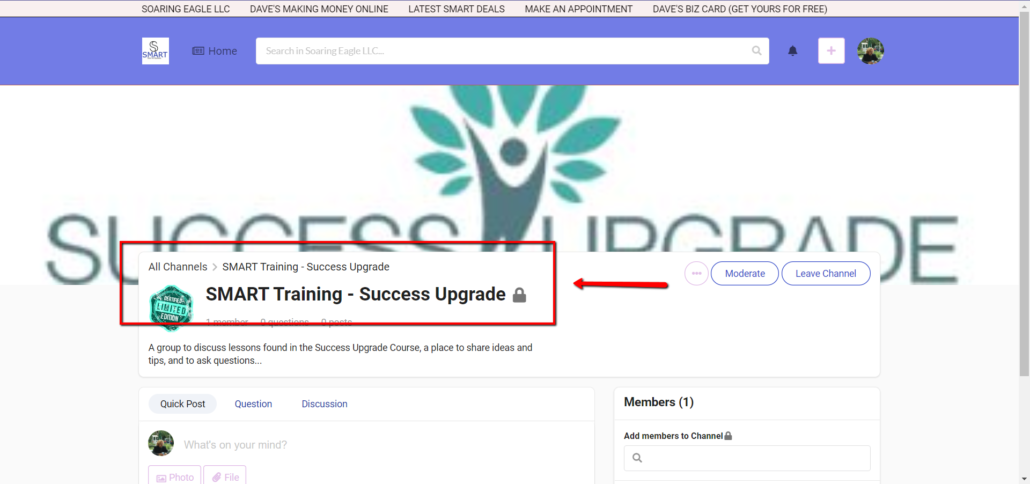 2020 01 10 2027 1030x484 - SMART Training - Success Upgrade Club - What's Holding YOU Back?